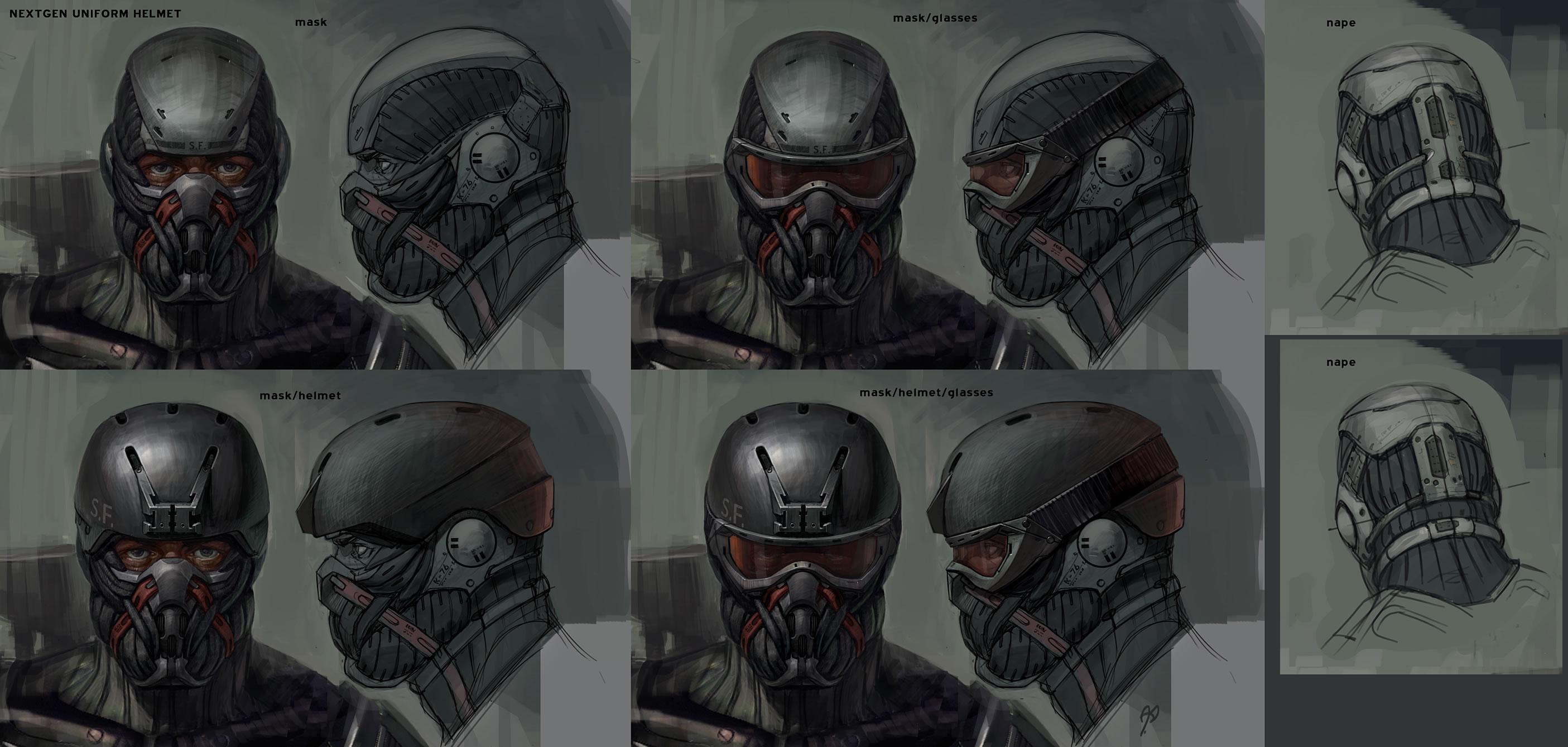 Как сделать шлем crysis